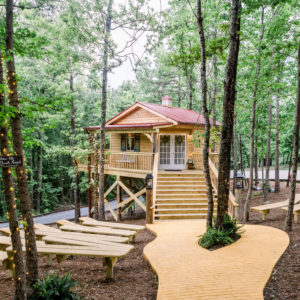 Cabin At the Lodge Tree house chapel
